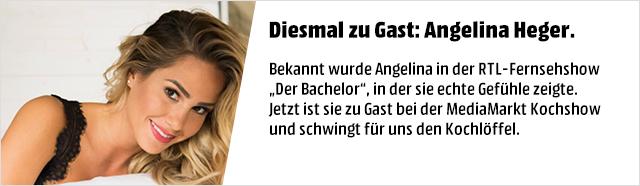 Diesmal zu Gast: Angelina Heger.
