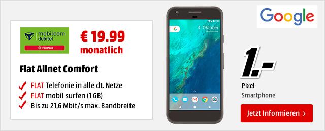 Google Pixel für € 1.-