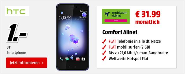 HTC U11 für € 1.-