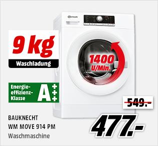 BAUKNECHT WM MOVE 914 PM für € 477.-