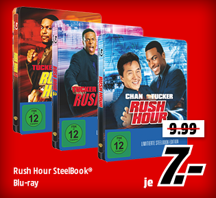 Rush Hour SteelBook®