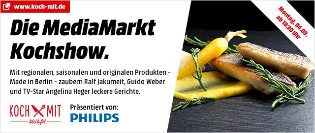 Die MediaMarkt Kochshow