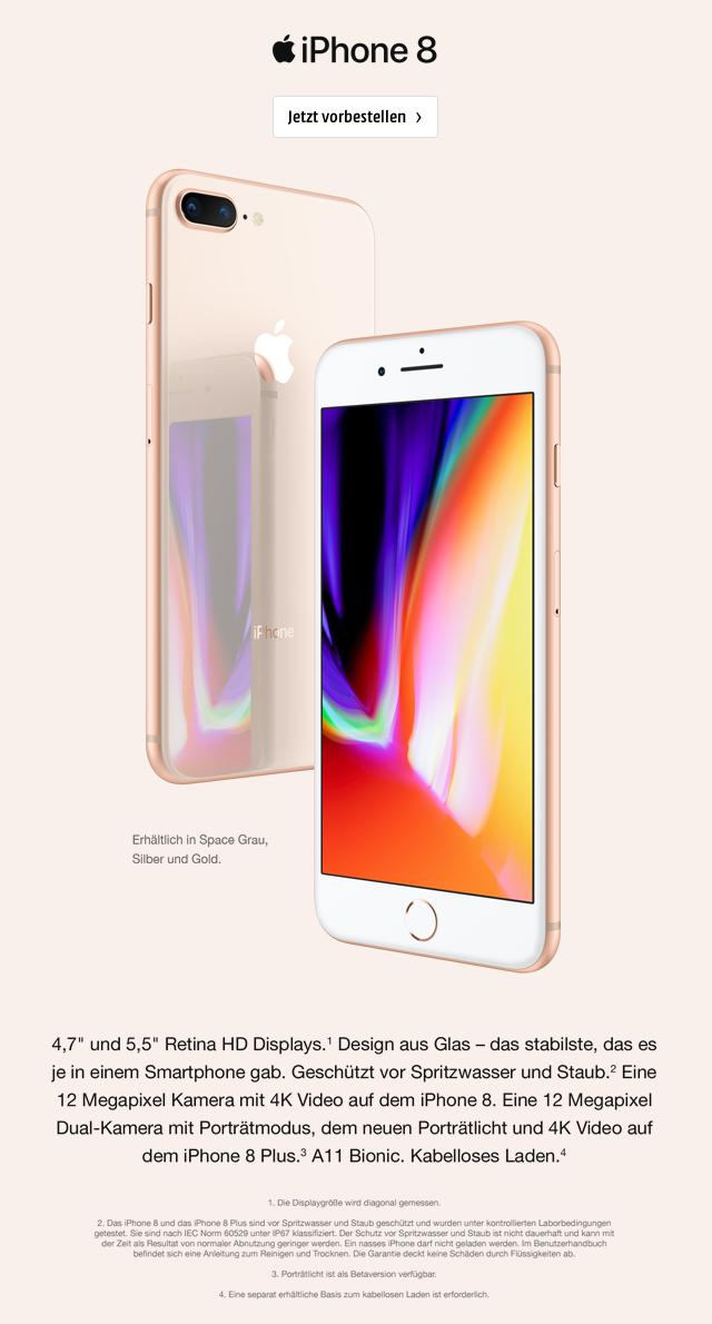 apple iPhone 8 & iPhone 8 Plus