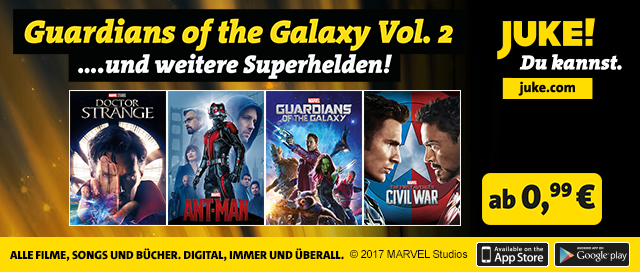 JUKE - Guardians of the Galaxy Vol. 2