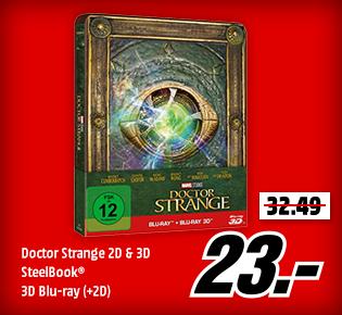 Doctor Strange 2D & 3D SteelBook®